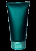 Eine Shampooflasche